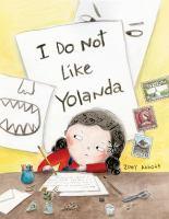 Cover image for I do not like Yolanda
