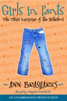 Cover image for Girls in pants : the third summer of the sisterhood