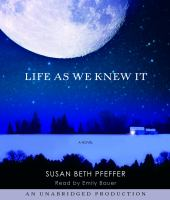 Cover image for Life as we knew it