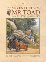 Cover image for The adventures of Mr. Toad from The wind in the willows