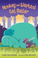 Cover image for Monkey and elephant get better