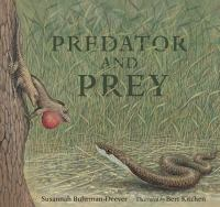 Cover image for Predator and prey : a conversation in verse