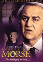 Cover image for Inspector Morse. the settling of the sun