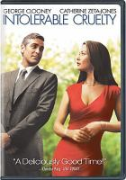 Cover image for Intolerable cruelty