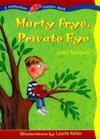 Cover image for Marty Frye, private eye