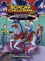 Cover image for The amusement park mystery