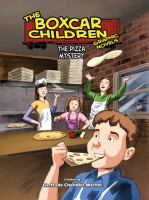 Cover image for The pizza mystery