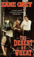 Cover image for The desert of wheat