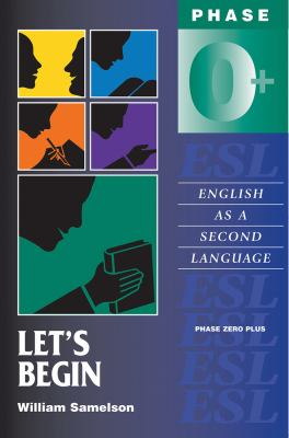 Cover image for English as a second language. phase 0+. Let's begin