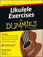 Cover image for Ukulele exercises for dummies