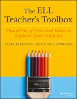Cover image for The ELL teacher's toolbox : hundreds of practical ideas to support your students