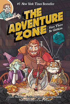 Cover image for The adventure zone. Here there be gerblins
