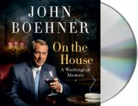 Cover image for On the house : a Washington memoir