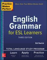 Cover image for English grammar for ESL learners