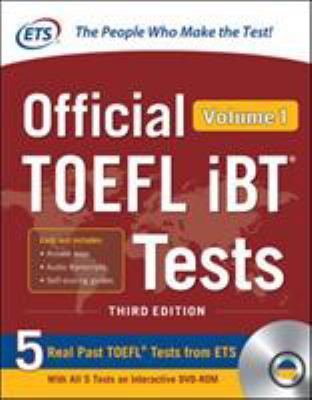 Cover image for Official TOEFL iBT tests. Volume 1.