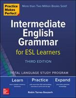 Cover image for Intermediate English grammar for ESL learners