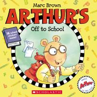Cover image for Arthur's off to school