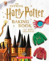 Cover image for The official Harry Potter baking book