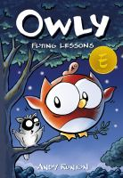Cover image for Owly. Flying lessons