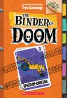Cover image for The binder of doom. Speedah-cheetah