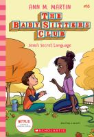 Cover image for The Baby-sitters Club. Jessi's secret language