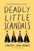 Cover image for Deadly little scandals