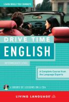 Cover image for Drive time English. Intermediate level.
