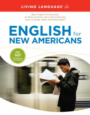 Cover image for English for new Americans