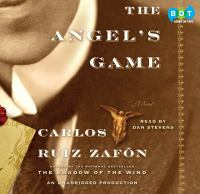 Cover image for The angel's game