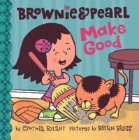 Cover image for Brownie & Pearl make good