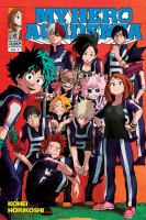 Cover image for My hero academia. Vol. 4, The boy born with everything