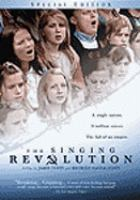 Cover image for The singing revolution
