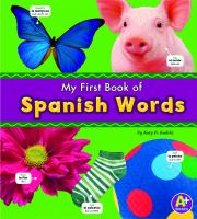 Cover image for My first book of Spanish words