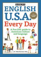 Cover image for English U.S.A. every day : a fun ESL guide to American culture and language