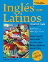 Cover image for Inglés para Latinos. Nivel dos = English for Latinos