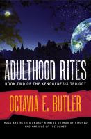 Cover image for Adulthood rites