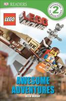 Cover image for The LEGO movie. Awesome adventures