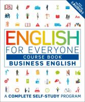 Cover image for English for everyone course book. Level 1, Business English