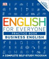 Cover image for English for everyone : practice book. Level 1 business English