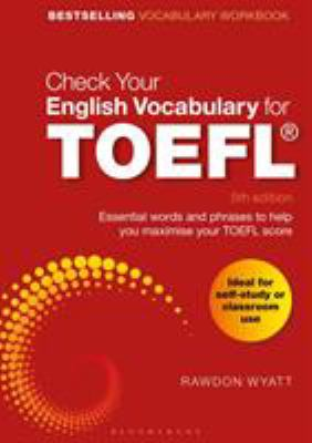Cover image for Check your English vocabulary for TOEFL