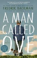 Cover image for A man called Ove BOOK CLUB #10 a novel