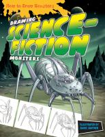 Cover image for Drawing science-fiction monsters
