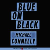 Cover image for Blue on black