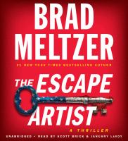 Cover image for The escape artist