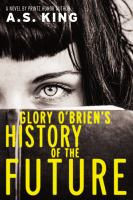 Cover image for Glory O'Brien's history of the future