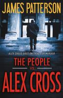 Cover image for The people vs Alex Cross