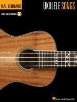 Cover image for Ukulele songs.