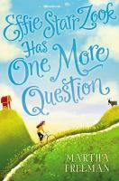 Cover image for Effie Starr Zook has one more question