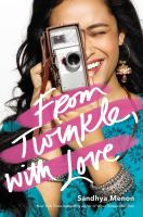 Cover image for From Twinkle, with love