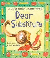 Cover image for Dear substitute